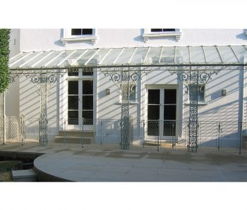 Glass roof period Veranda