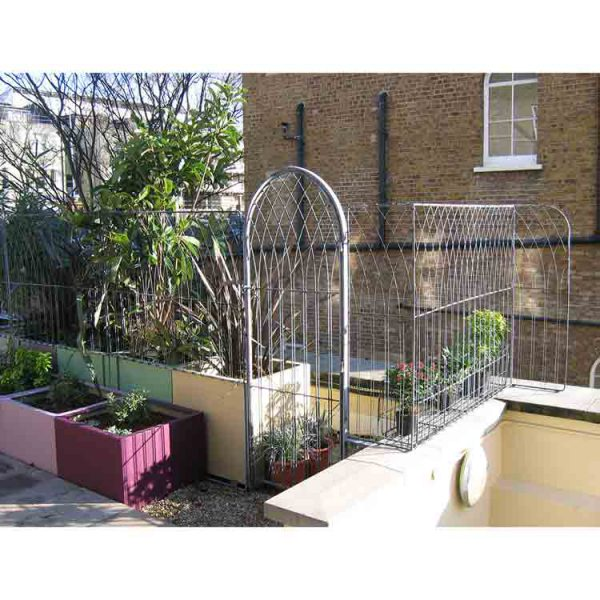 London roof top Gate and Trellis