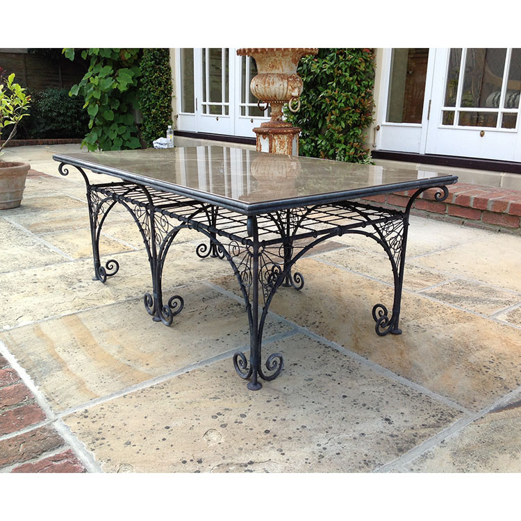 Marble Top Wire Coffee Table: Rayment Wire Rayment Wire