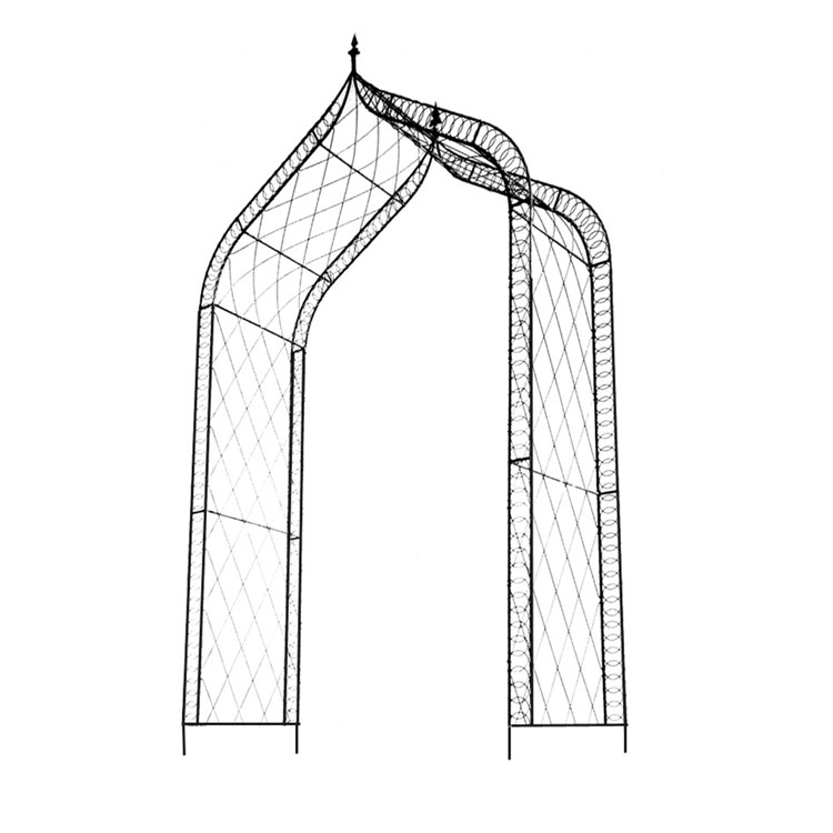 No 91 Rose arch - Gothic top