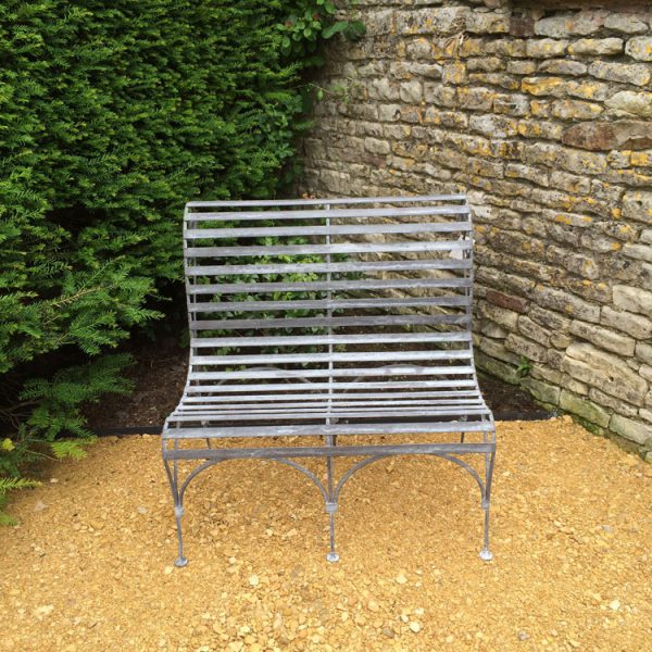 No 50 Double Slatted Bench
