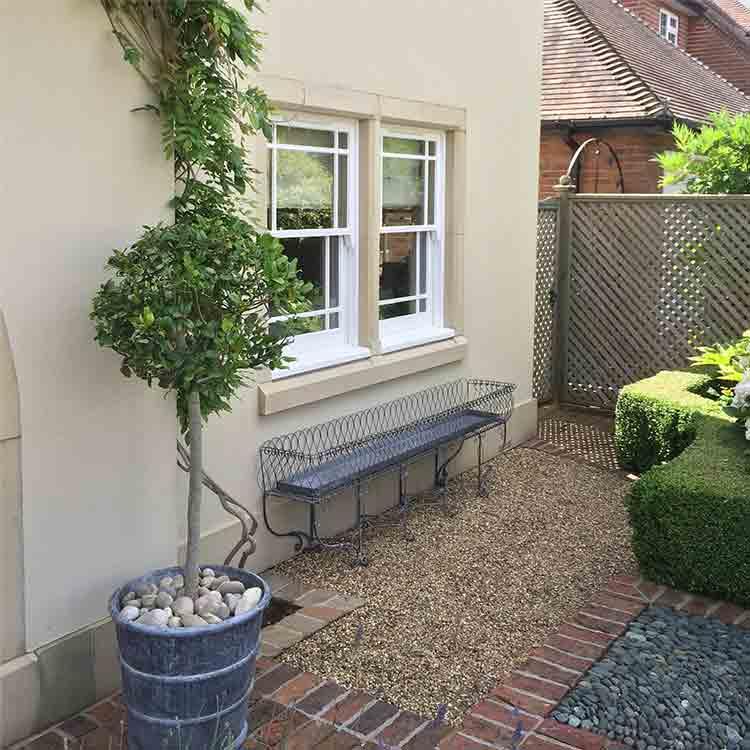 Period bespoke window planter